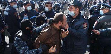 مظاهرات أرمينيا