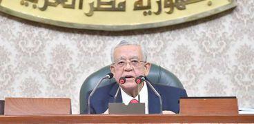 المستشار الدكتور حنفى جبالى رئيس مجلس النواب