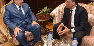 لقاء الكاتب الصحفي محمود مسلم مع المستشار عبدالوهاب عبدالرازق رئيس مجلس الشيوخ