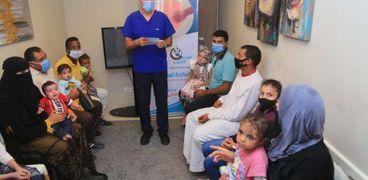 """""""صناع الخير"""" تدشن مبادرة لإنقاذ حياة مصابي الأمراض الجلدية الخطيرة"""