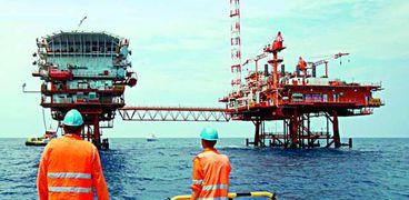 حقل لإنتاج الغاز الطبيعي