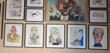 بورتريهات كاريكاتيرية في مهرجان كاريكاتونس