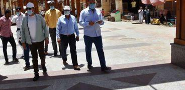 استدعاء رئيس مدينة أسوان ونوابه بسبب النظافة والإشغالات