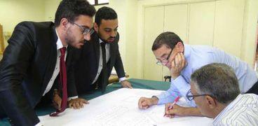 مشروعات تخرج هندسة المنيا
