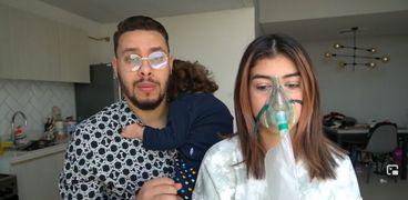 طبيب يكشف حيلة أحمد حسن وزينب لجني الأرباح:ده مش جهاز أكسجين