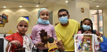 اطفال مستشفي شفاء الاورمان لسرطان الاطفال