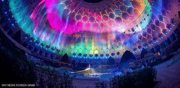 جانب من حفل افتتاح اكسبو 2020 دبي