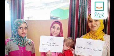 حملات التوعية لحياة كريمة بمحافظة كفر الشيخ