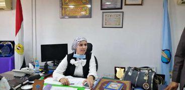 هدى المغربي رئيس مدينة سفاجا