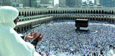 حجاج بيت الله الحرام-صورة أرشيفية