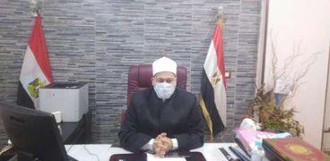 الدكتور عاصم قبيصى وكيل وزارة الأوقاف بأسيوط