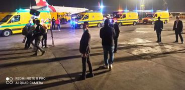 تأكيدات من وزارة الطيران المدني بسلامة مطار القاهرة من أى حرائق- ارشيفية