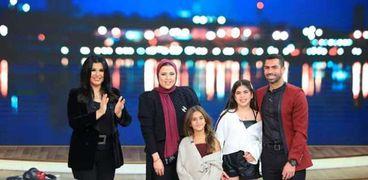 أحمد فتحي وبناته