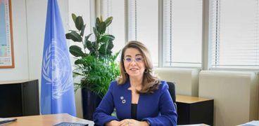 الدكتورة غادة والي وكيل الأمين العام للأمم المتحدة