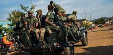 عناصر من الجيش في الكونغو