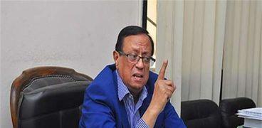 الدكتور محمود علم الدين المتحدث باسم جامعة القاهرة