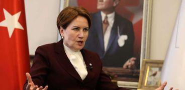 رئيسة حزب الخير التركي ميرال أكشنار