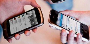 زيادة كبيرة فى اعداد مستخدمي إنترنت الموبايل
