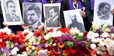ضحايا المجازر العثمانية