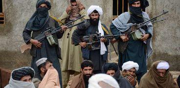 عناصر من حركة طالبان الأفغانية