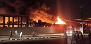حريق الإسماعيلية