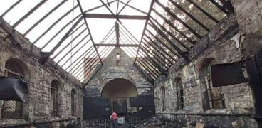 الكنيسة المحترقة