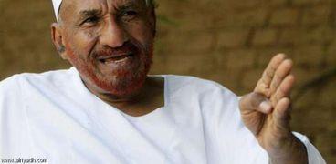 """زعيم حزب""""الأمة القومي"""" السوداني-الصادق المهدي-صورة أرشيفية"""