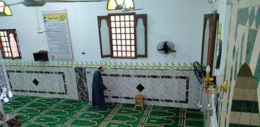 جانب من تطهير مساجد كفر الشيخ