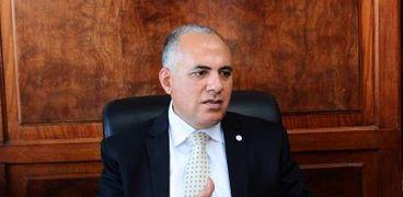 الدكتور محمد عبدالعاطى، وزير الموارد المائية والرى