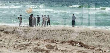 اهالي ضحايا غرقي شاطئ الصفا في الإسكندرية