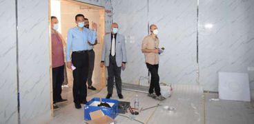 وكيل صحة الشرقية يتفقد العمل وأعمال التطوير بمستشفي الزقازيق العام
