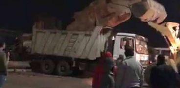 """""""مش أصلي"""".. بيان من محافظة الشرقية حول نقل تمثال رمسيس من أمام الجامعة"""