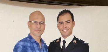 الملازم أحمد شوشة ووالدة