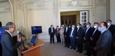 رئيس الوزراء يشيد بجهود ترميم وإحياء قصر السلطان حسين كامل