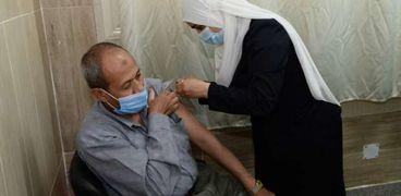 جانب من حملة التطعيم