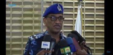 وزير الداخلية السودانية الفريق أول شرطة حقوقي الطريفي إدريس