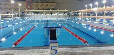 حمام سباحة أوليمبي بنادي الرياضات البحرية بالغردقة