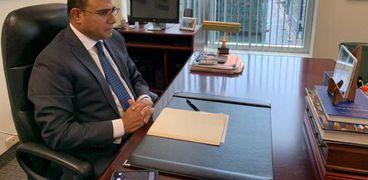 السفير أبو زيد سفير مصر في كندا