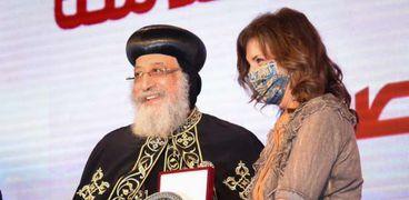 وزيرة الهجرة تشارك في احتفالية الكاتدرائية بمسار العائلة المقدسة لمصر
