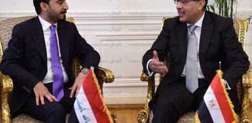 صورة من جلسة رئيس الوزراء بصحبة رئيس البرلمان العراقي
