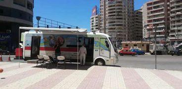 سيارات مياه الشرب في الإسكندرية
