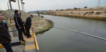خلال متابعة المستمرة لضغوط المياه استعدادا لبطولة كأس العالم لليد بالاسكندرية