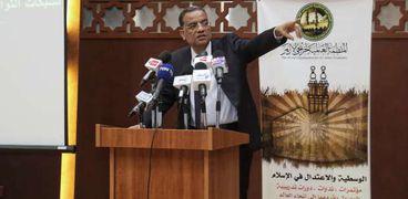 الكاتب الصحفي محمود مسلم في ورشة العمل