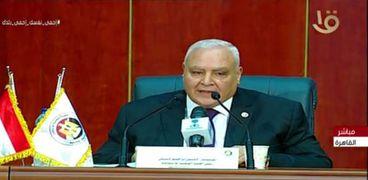المستشار لاشين إبراهيم.. رئيس الهيئة الوطنية للانتخابات