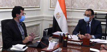 اجتماع الدكتور مصطفى مدبولي مع وزير الشباب والرياضة