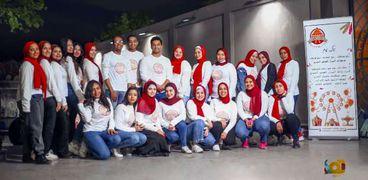 طلاب جامعة حلوان