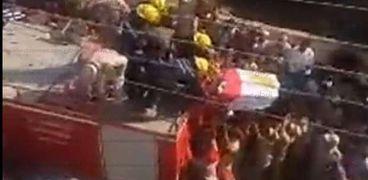 جنازة الشهيد أبانوب