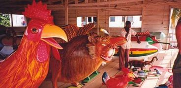 توابيت عالم الخيال في غانا