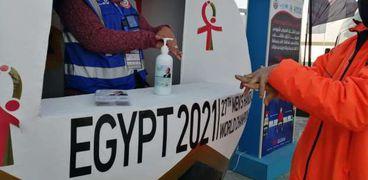 لجنة مونديال اليد الطبية: إجراء 1334 تحليل «pcr» للمشاركين في 24 ساعة