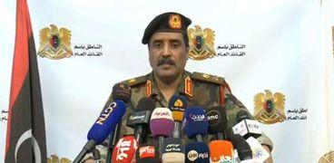 اللواء أحمد المسماري.. المتحدث باسم الجيش الوطني الليبي